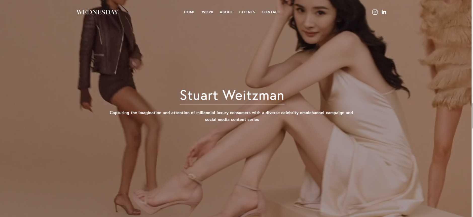 Wednesday agency website